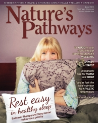 Nature's Pathways cover links ot my article